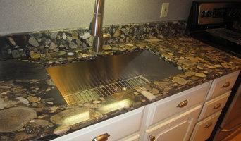 Counterra Black Marinace Gold Granite