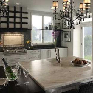 Bild på ett kök
