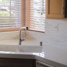 Contemporary Kitchen Countertop redo
