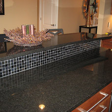Contemporary Kitchen Countertops by DeGraaf Interiors