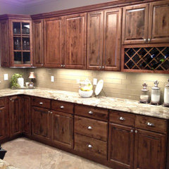 traditional kitchen by Triton Stone Group of New Orleans