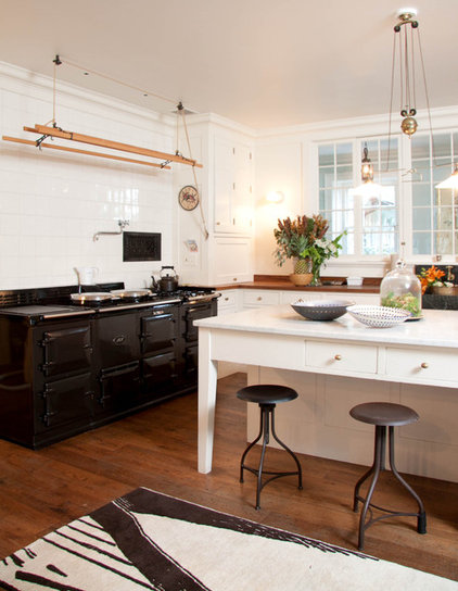 Eclectic Kitchen by Mary Mac Elree Interiors