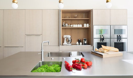 18 Neat and Nifty Appliance Cupboard Ideas for Your Kitchen