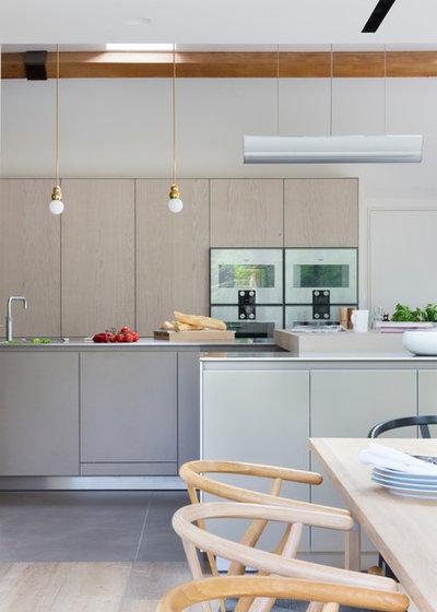 k chenanbau aus glas erweitert ein historisches wohnhaus in oxfordshire. Black Bedroom Furniture Sets. Home Design Ideas