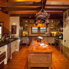 eclectic kitchen by Christopher K. Travis