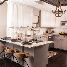 Transitional Kitchen by Henry Kate Design Co.