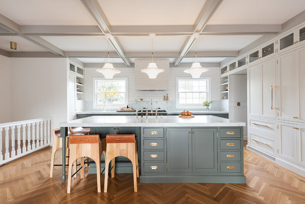 Transitional Kitchen by Dan Macdonald/ Craftsman Kitchens