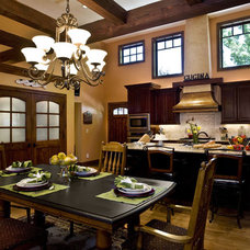 Traditional Kitchen by Monique Jacqueline Design