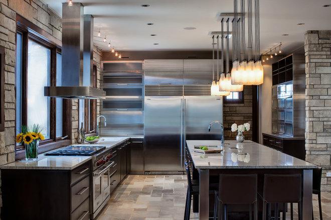 Contemporary Kitchen by Drury Design