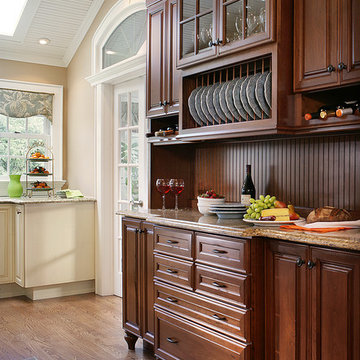 Country Cottage Galley Kitchen