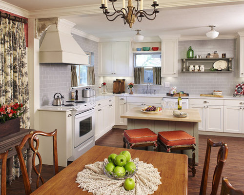 Mid Sized Traditional Eat In Kitchen Designs   Mid Sized Traditional L  Part 80