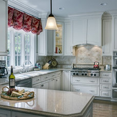 Traditional Kitchen by Cabell cummins interiors