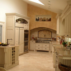 Traditional Kitchen by Fran Kerzner- DESIGN SYNTHESIS