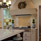 Country French Kitchen, Macon, GA - Traditional - Kitchen ...