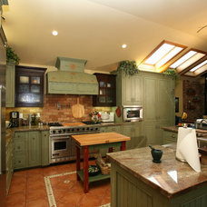 Farmhouse Kitchen by Pacific Coast Custom Design