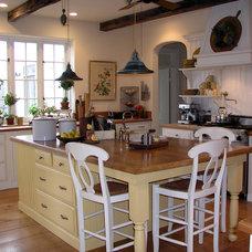 Traditional Kitchen by L Cloward Design, LLC