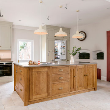 Country House Kitchen, Pantry and Bootroom
