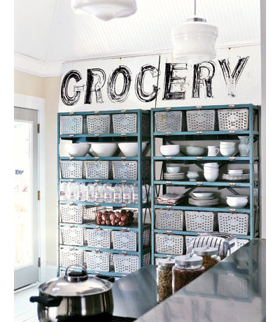 Eclectic Kitchen Country/Industrial Kitchen
