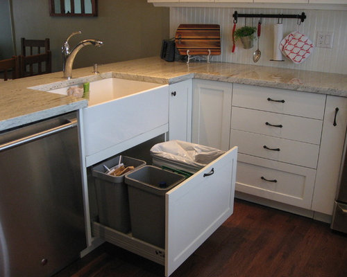 Under Sink Garbage Bins Home Design Ideas, Pictures, Remodel and Decor