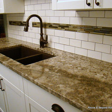 Transitional Kitchen by Above & Beyond Home Concepts