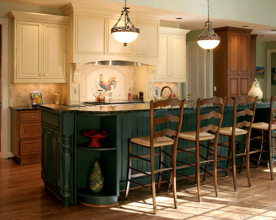 two color kitchen | houzz