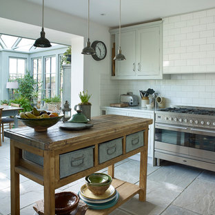 Inspiration for a farmhouse kitchen/diner in London.
