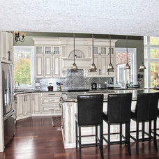 Traditional Kitchen by Andex Kitchens and Custom Woodworking