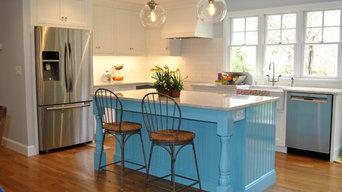 Country kitchen in Hamilton, MA