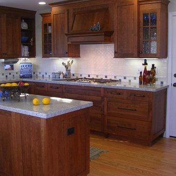 Country kitchen in Los Altos, CA
