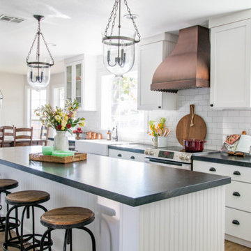 Country Kitchen inspired by HGTV Fixer Upper