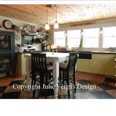 Eclectic Kitchen by Julie Fergus, ASID