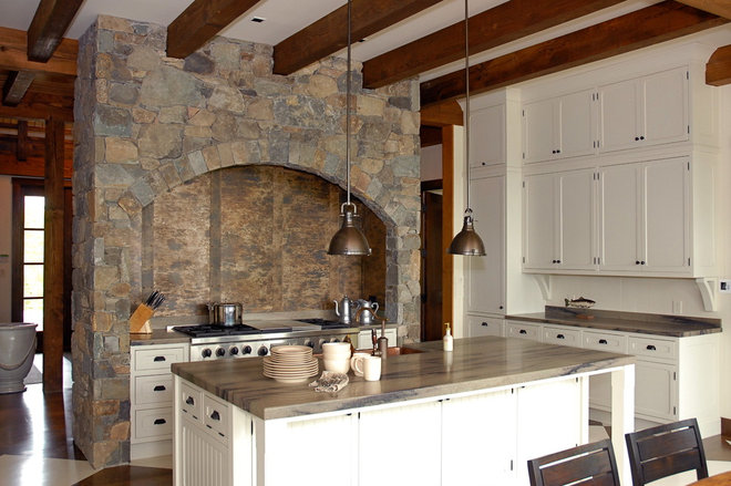 Traditional Kitchen by Leona Mozes Photography