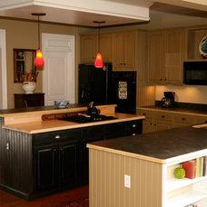 Farmhouse Kitchen by Dovetail Group LLC