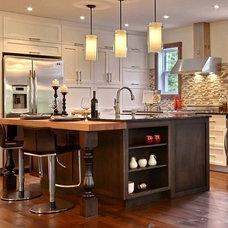 Rustic Kitchen by Melyssa Robert Designer