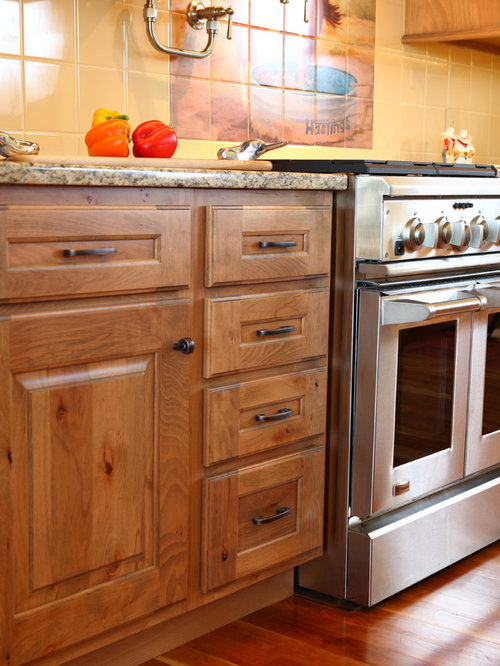 Rustic Beech Cabinets Houzz