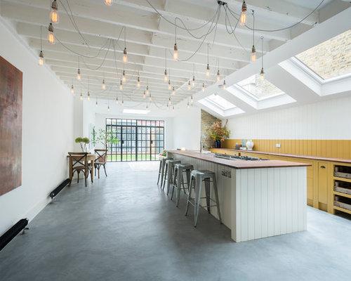 75 Large Galley Kitchen Design Ideas - Stylish Large Galley Kitchen ...
