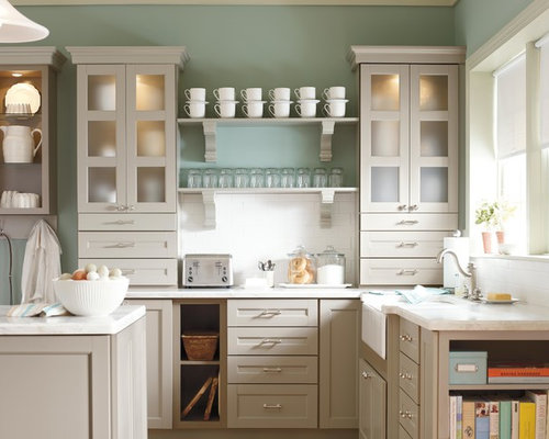 Corian Sea Salt Kitchen Design Ideas & Remodel Pictures | Houzz