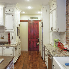 Rustic Kitchen by William David Homes