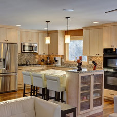 Transitional Kitchen by McDonald Remodeling