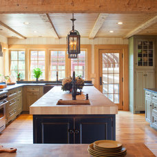 Farmhouse Kitchen by Rill Architects