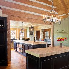 Farmhouse Kitchen by Rill Architects