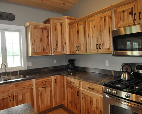 Knotty Hickory Cabinets Home Design Ideas Pictures