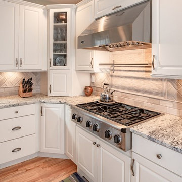 Country White Kitchen in Bethel