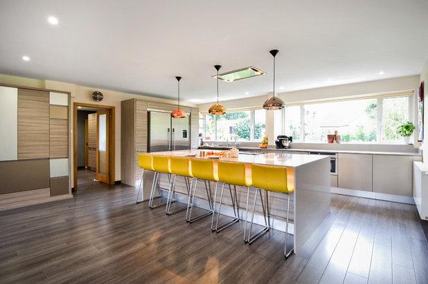 Houzz Tips: Sådan får du farver ind i dit køkken