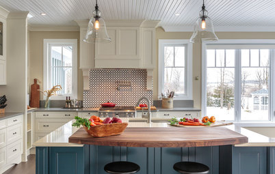 Kitchen of the Week: Elegant Farmhouse Style on the Water