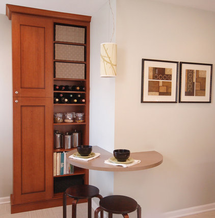 contemporary kitchen by Emily Mackie