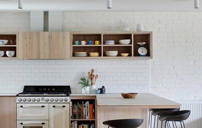 Room of the Week: A Kitchen That Doesn't Hide Everyday Clutter