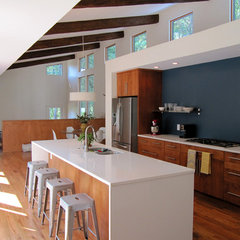modern kitchen by Bork Architectural Design, Inc.