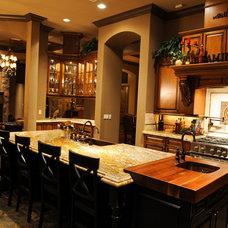 Mediterranean Kitchen by Couture Design - Build