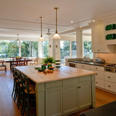 Traditional Kitchen by Eric A Chase Architecture